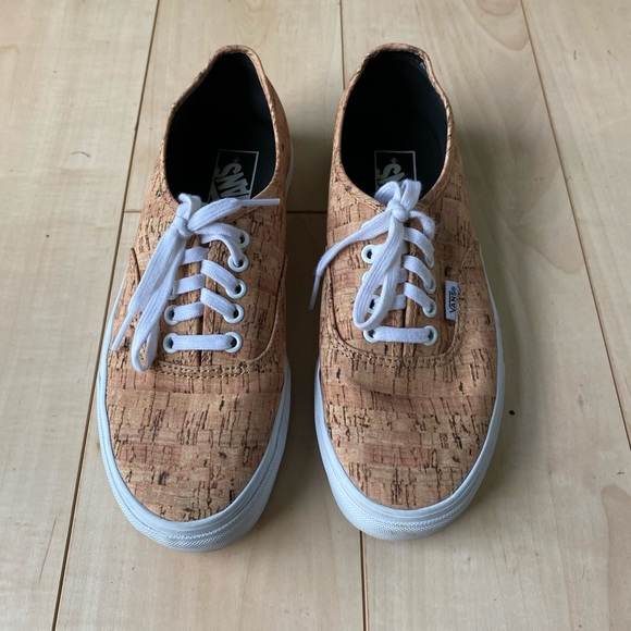 Vans Shoes | Vans Authentic Cork | Poshmark